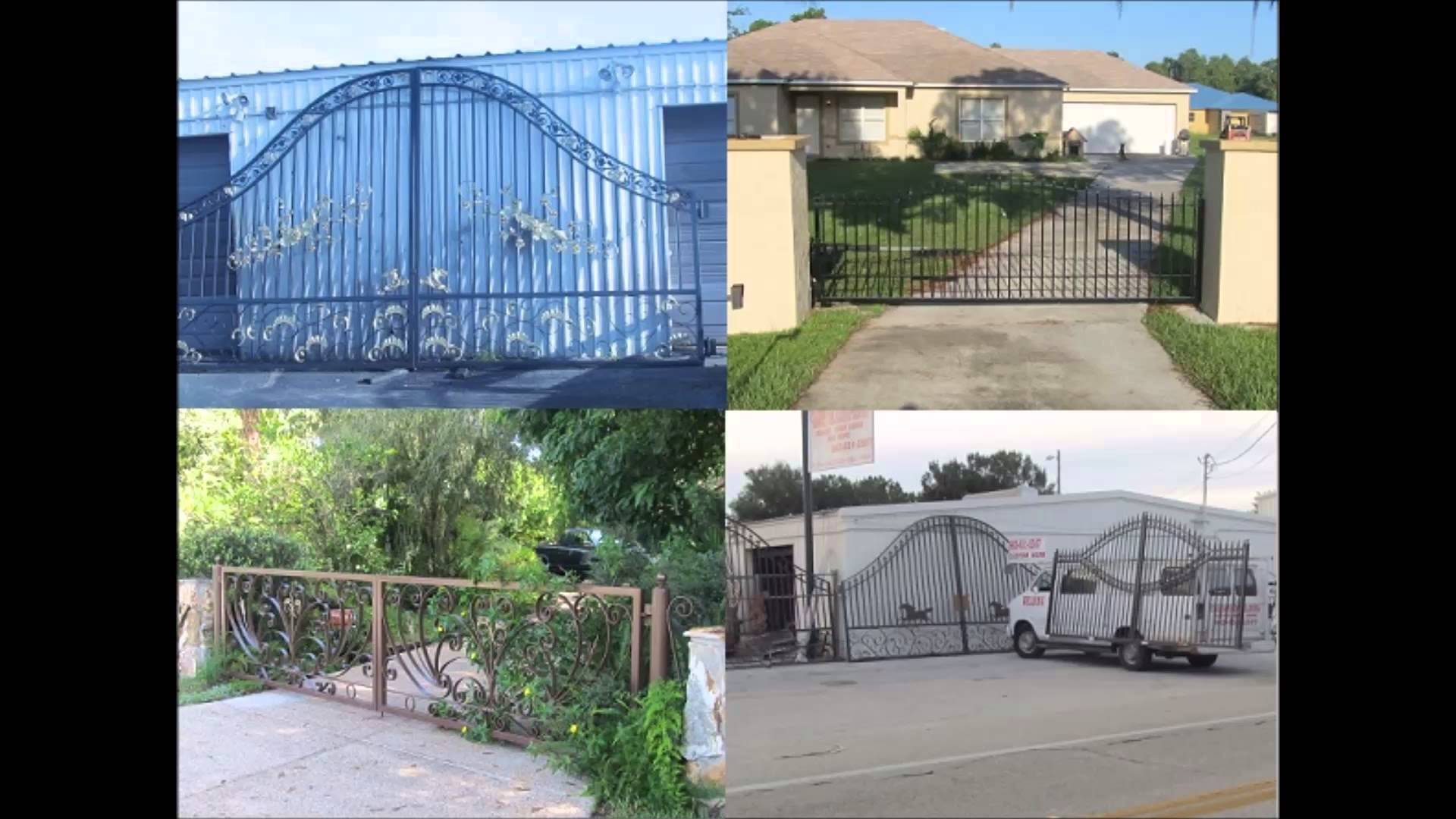 Wrought Iron Steel Gate Service