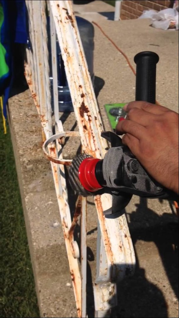 How To Remove Iron Railing Paint And Rust Removal