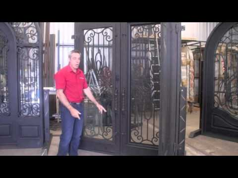 Wrought Iron Front Entry Doors Service